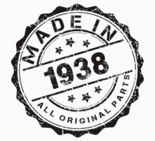 MADE IN 1938 ALL ORIGINAL PARTS by smrdesign