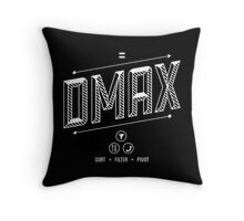 DMAX Throw Pillow