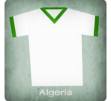 Retro Football Jersey Algeria by Daviz Industries