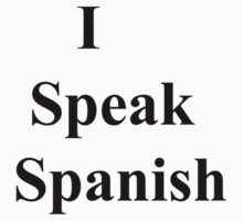 I Speak Spanish by ispeak