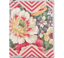 Candy Floral Chevron iPad Case/Skin