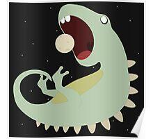 Dinombiesaurus Astrexnaut Poster