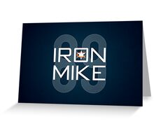 Iron Mike Greeting Card