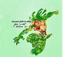 Tarzan ~ Put Your faith in what you most believe in by EvaEnchanted