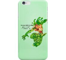 Tarzan ~ Put Your Faith In What You Most Believe In iPhone Case/Skin