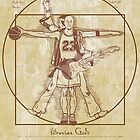 Vitruvian Gods by Samiel