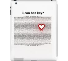 Heartbleed OpenSSL One iPad Case/Skin