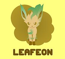 LEAFEON by WillOrcas