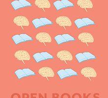 Open Books, Open Minds (2) by Samantha Weldon