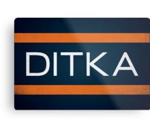 Ditka Metal Print