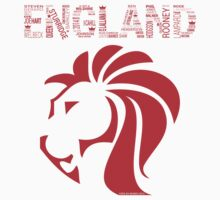 Three Lions World Cup 2014 by Aly Juma