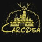 Carcosa | True Detective | Disney Yellow Distressed by rydrew