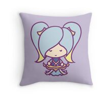Sona: League of Valentines Throw Pillow