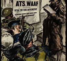 WAAF Recruiting Poster by dianegaddis
