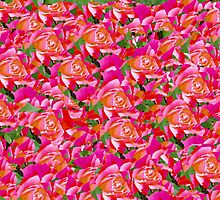 Sea of roses by MichaelWick