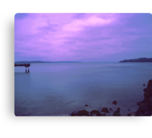 Puget Sound Canvas Print