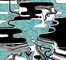 Waves On The Rock by Seroa89