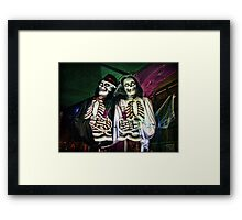 The Wedding of the Dead Framed Print