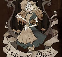 Clockwork Alice by Fairytale Illustration