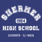 Shermer High school 1984 (worn look) by KRDesign