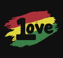 One Love by ThatTeeShirtGuy