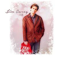 Jim Carrey Fan Photographic Print