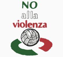 NO ALLA VIOLENZA [WHITE] by RighteousBear
