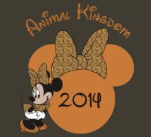 Minnie Mouse Cheetah Animal Kingdom by sweetsisters