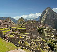 Splendor Of Machu Picchu by phil decocco