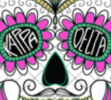 kappa delta skulls Sticker
