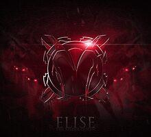 Elise the Spider Queen Emblem Design by Extraqt