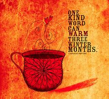 What my #Coffee says to me -  December 20, 2012 Pillow by catsinthebag