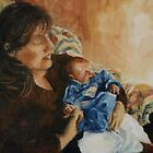 Mother and child by Beatrice Cloake