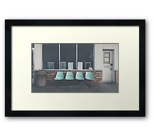 Waiting Area Framed Print