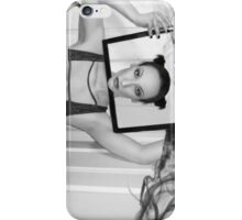 Emotional Smoke Screen - Self Portrait iPhone Case/Skin