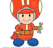 Team Toad Crewmember by vdBurg