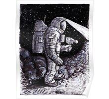 Astronaut Bruce Baxter Poster