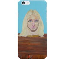 """Museum of strange things No1 """"Study of a blonde girl"""" iPhone Case/Skin"""