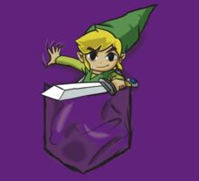 Wind Waker Link in a Pocket Purple by HeartlessArts