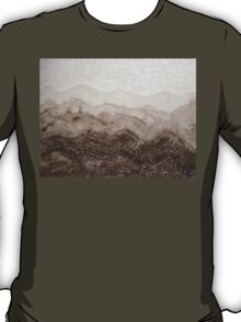 Desert Mountain Mist original painting T-Shirt