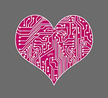 Digital Love - Pink by bexish