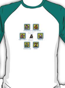 8-bit Batman Select Screen Shirt T-Shirt