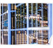 Window Reflection in Batemans Bay/NSW/Australia Poster