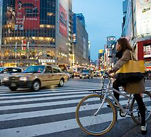 Shibuya Crossing by Mark Eden