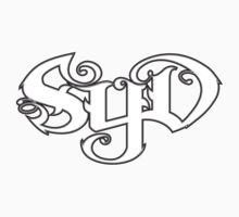 SYD  (white bold) by Bilistik Art