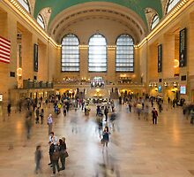 Grand Central Terminal by Mark Eden
