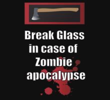 Break glass in case of apocalypse by icedtees