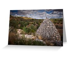 drystone shelter Greeting Card