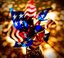 Patriotic pinwheel by Thad Zajdowicz