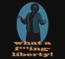 Nan Taylor Liberty t-shirt by markkm08